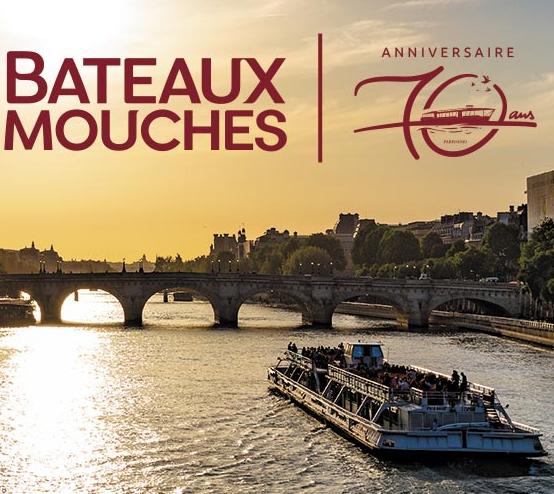Croisière promenade sur la Seine demi-tarif (pour tous) ou gratuit (pour les personnes nées en 1949) - Paris (75)