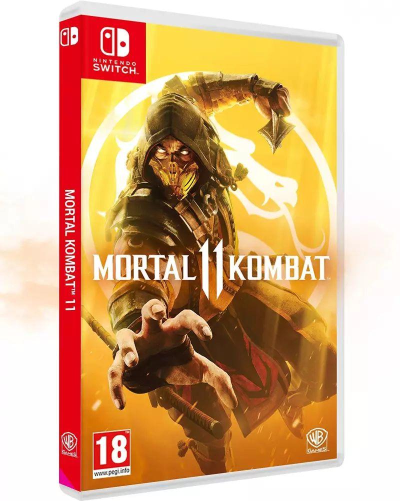 Mortal Kombat sur Nintendo Switch