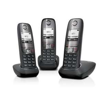 Pack de 3 téléphones fixes sans-fil Gigaset AS415 Trio (Via ODR de 12€)