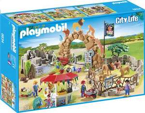 Playmobil City Life - Grand Zoo - n°6634