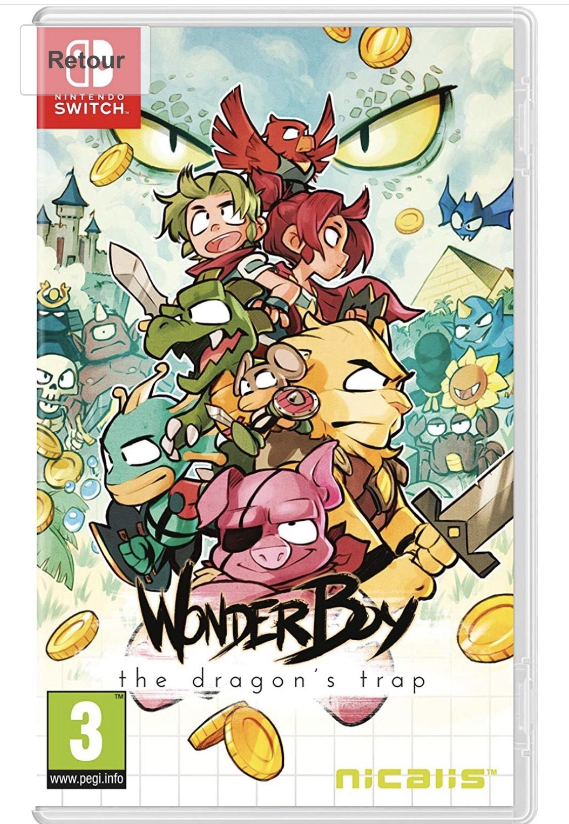 Wonder Boy: The Dragon's Trap sur Nintendo Switch
