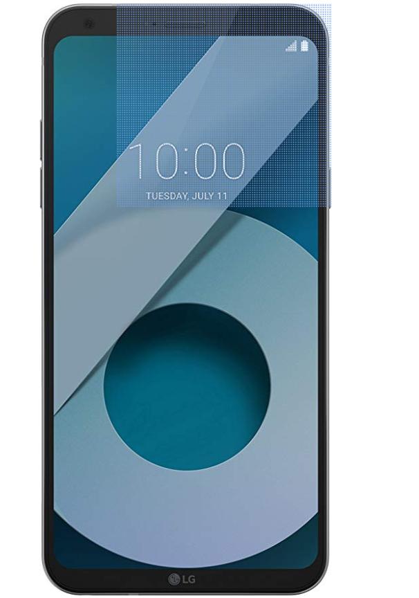 """Smartphone 5,5"""" LG Q6 - 32Go, RAM 3 Go, Reconnaissance faciale"""