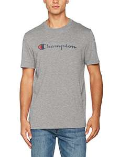 T-shirt Champion Crewneck - Gris, Tailles du S au XL