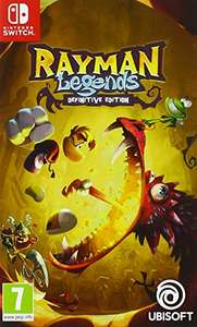 Rayman Legends - Definitive Edition sur Nintendo Switch