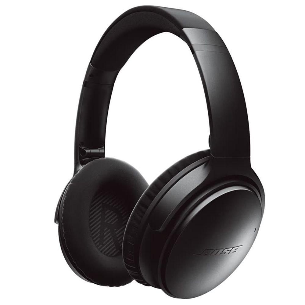 Casque Bluetooth Bose QuietComfort 35 II (Noir) - Réduction de bruit active (+ 12.15€ en SuperPoints)