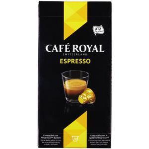 2 Packs de 10 Capsules Café Royal avec gain de 2€ (via 2.89€ fidélité + BDR + Shopmium)