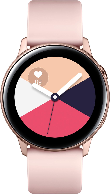 Montre connectée Samsung Galaxy Watch Active - rose (via 20€ sur la carte de fidélité + ODR de 30€)