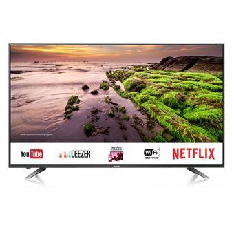 """TV 60"""" Sharp LC-60UI7652E (4K UHD, LED, Smart TV) + 45€ en carte cadeau"""