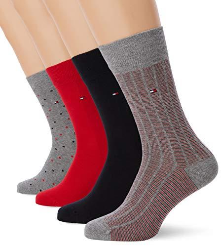 Coffret de 4 paires de chaussettes Tommy Hilfiger TH Men SS19 - 39/42 à 14.62€ et 43/46 à 15.01€