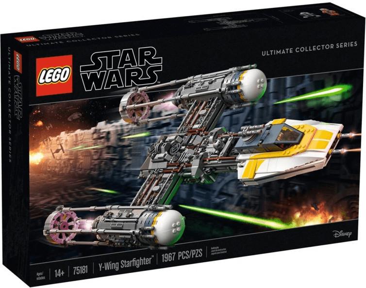 Jouet Lego Star Wars Y-Wing Starfighter - 75181 (via 42.48€ sur la carte de fidélité)