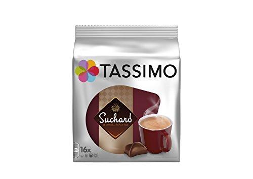 Lot de 5 sachets de 16 capsules de chocolat Tassimo Suchard - 80 capsules