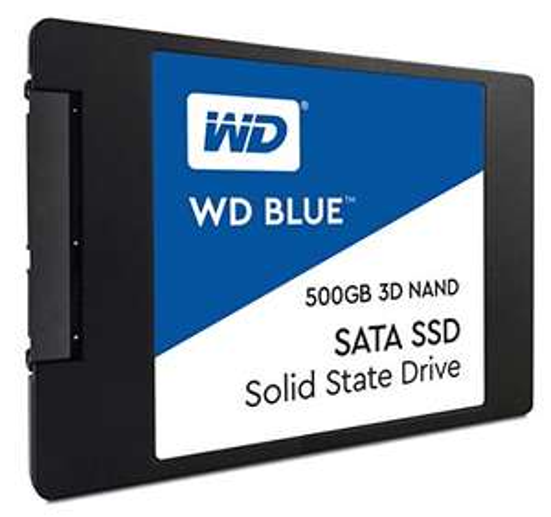 """SSD interne 2.5"""" Western Digital Blue SSD 3D - 500 Go"""