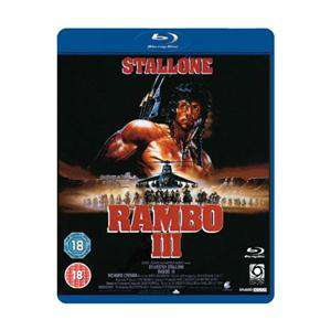 Blu-ray : Rambo First Blood à 4.09€, et Rambo II et Rambo III ( l'unité)