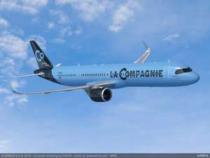 Vol AS New York EWR -> Paris ORY le 23 Juillet 2019 (Classe Affaire - lacompagnie.com)