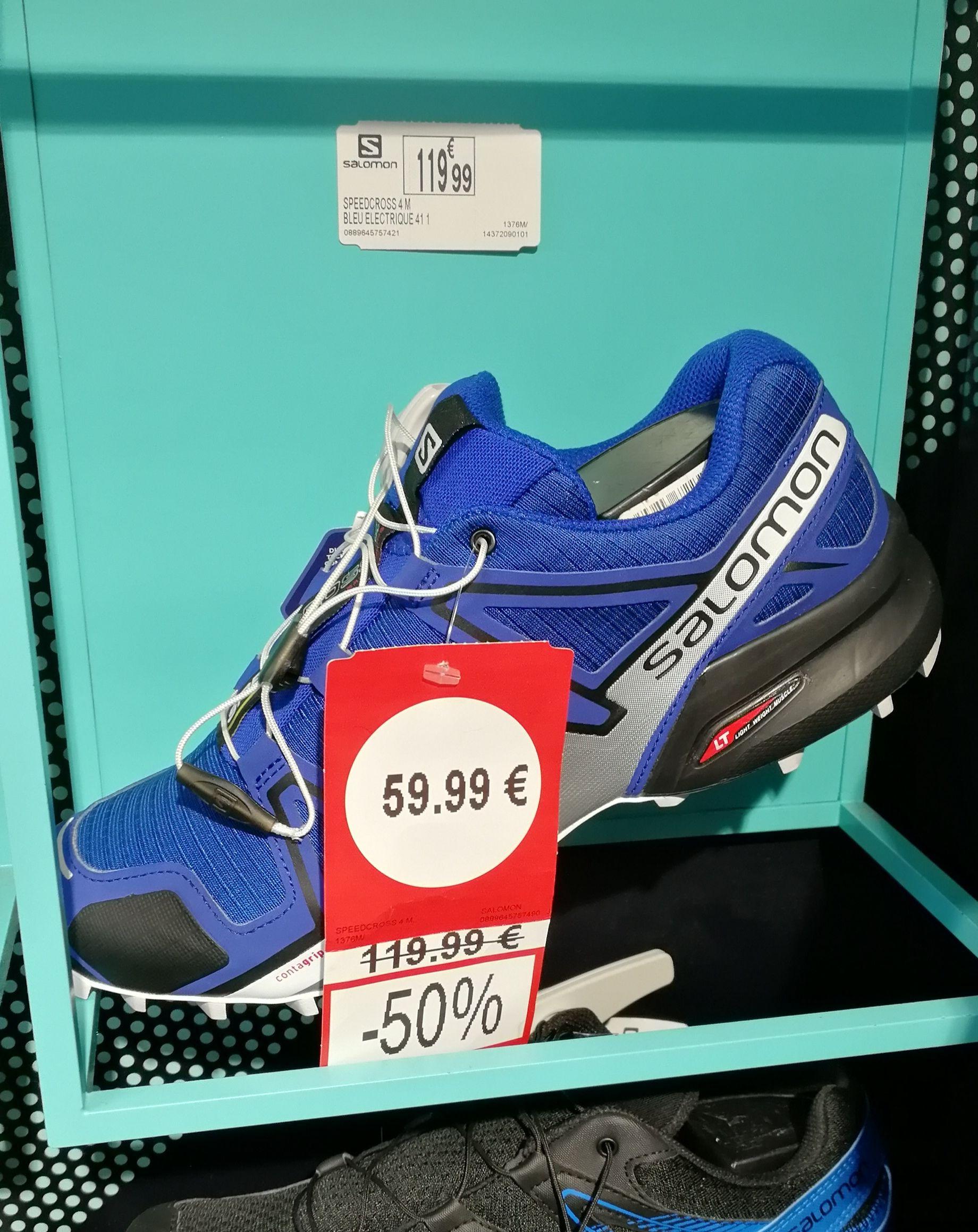 Chaussures Salomon speedcross 4 Bleu électrique