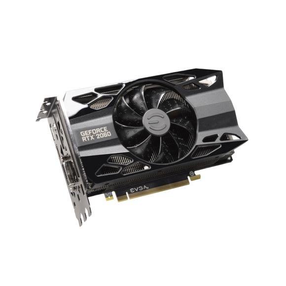 Carte graphique EVGA  GeForce RTX 2060 XC BLACK GAMING - 6 Go