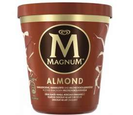 Pot de crème glacée Magnum - Différentes variétés, 297g (via BDR)