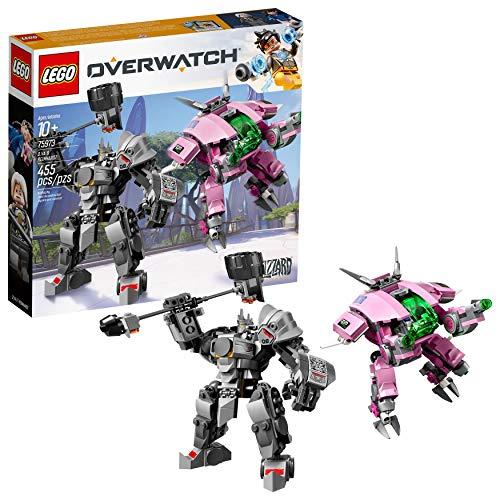 Jeu de construction Lego Overwatch : D.va et Reinhardt n°75973