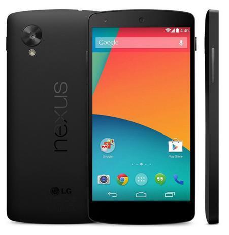 """Smartphone 5"""" LG Nexus 5 D820/D821 (Quad Core, 2 Go RAM, Stockage 16 Go) - Reconditionné"""
