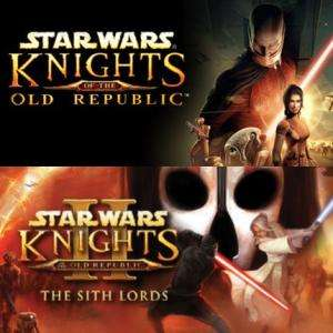 Star Wars: Knights of the Old Republic I & II sur PC (Dématérialisé - Steam)