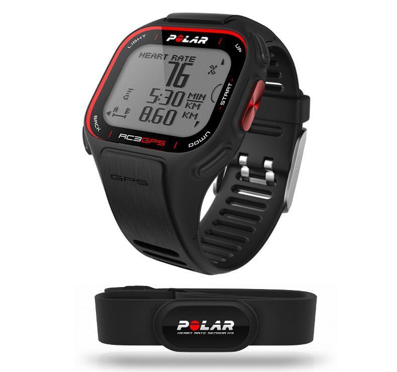 Montre Polar RC3 - Cardiofréquencemètre/GPS avec ceinture cardiaque