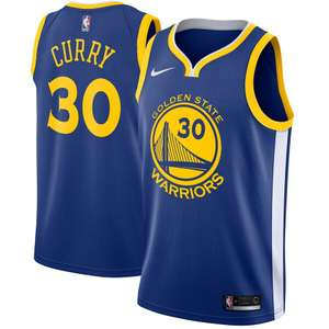 Maillot connecté Nike NBA Stephen Curry Icon Edition Swingman (Golden State Warriors)