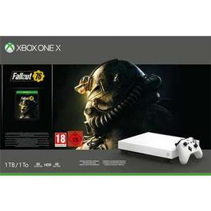 Console Microsoft Xbox One X 1 To Blanc + Fallout 76 + Crackdown 3 (Frontaliers Espagne)