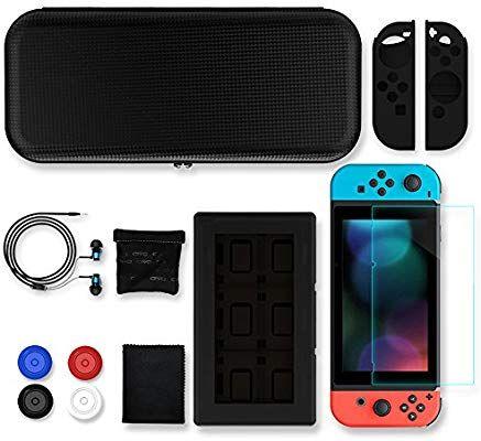 Pack housse de transport + accessoires Konky pour Nintendo Switch (Vendeur tiers)