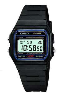 Montre Casio Collection F-91W-1YER pour Homme