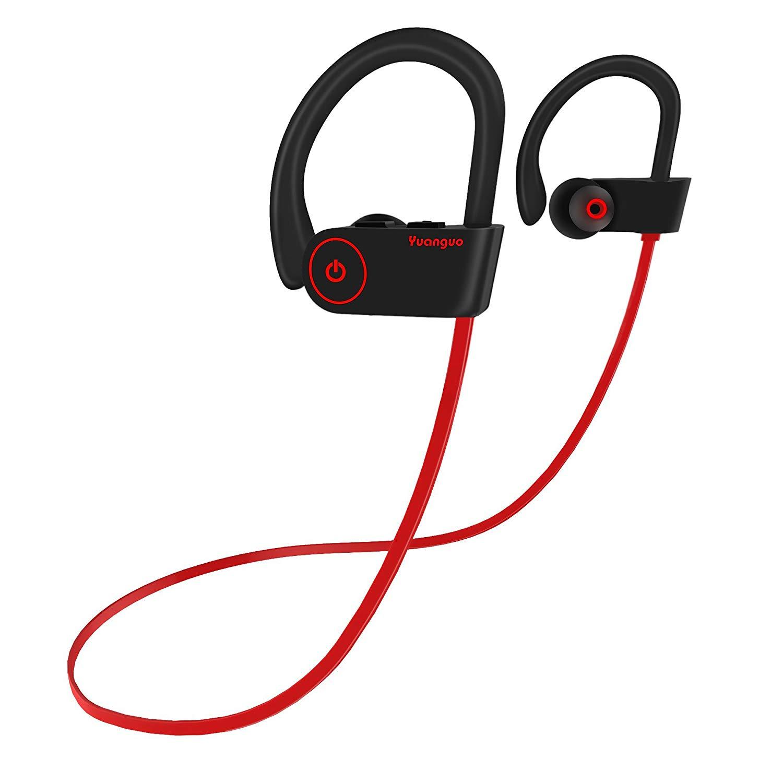 Écouteurs sans-fil sport Yuanguo - Bluetooth, IPX7 (Vendeur tiers)