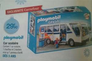 Car scolaire Playmobil City Life