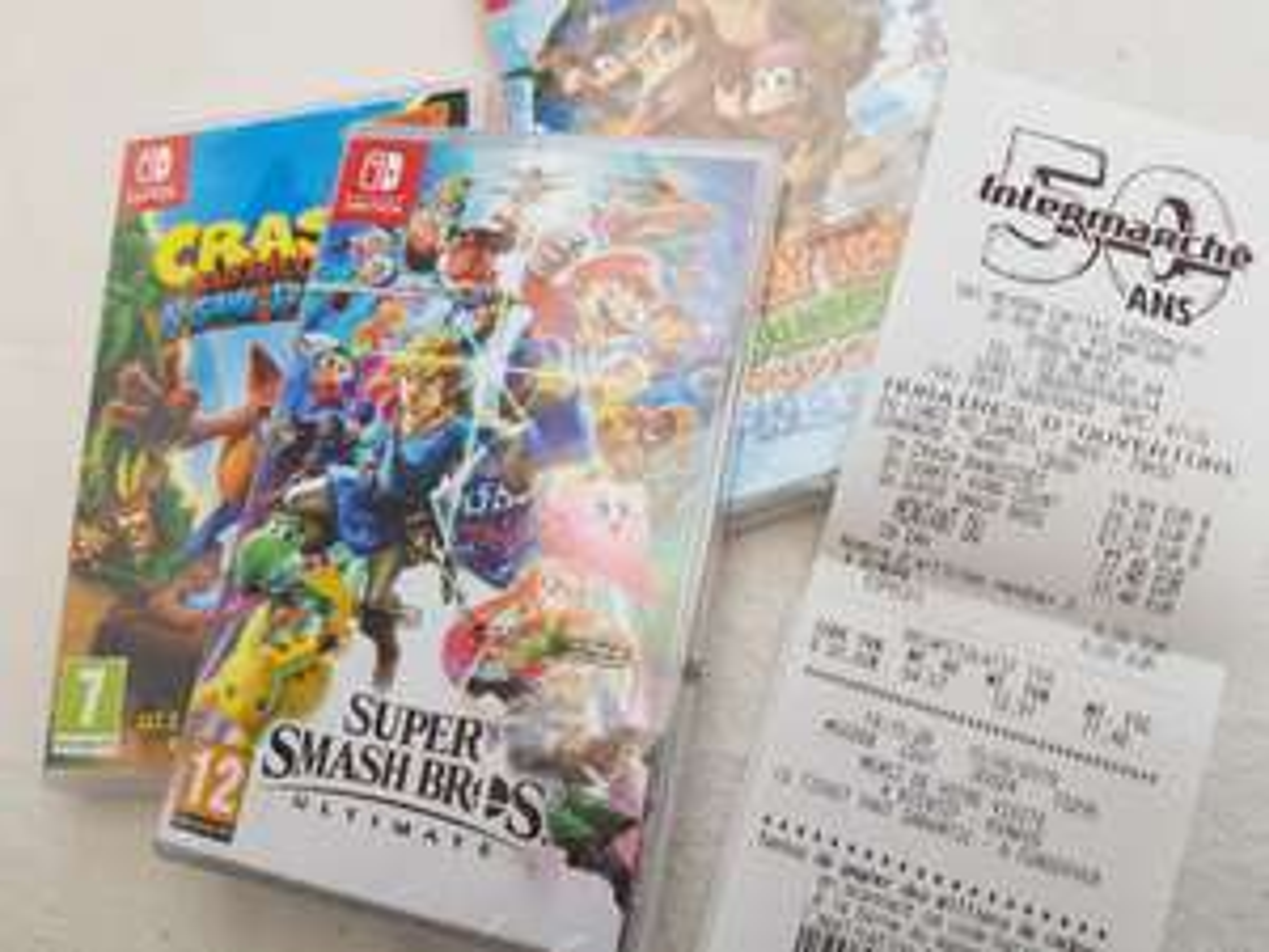 Sélection de jeux Nintendo Switch en promotion - Ex : Super Smash Bros Ultimate - Nevez (29)
