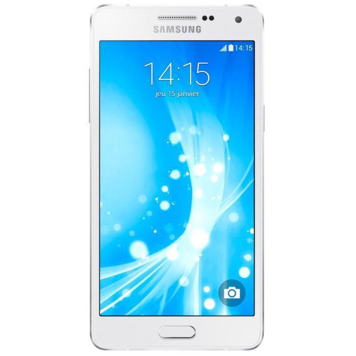 """Smartphone 5"""" Samsung Galaxy A5 - Blanc + 100€ en bons d'achats (via ODR de 50€)"""