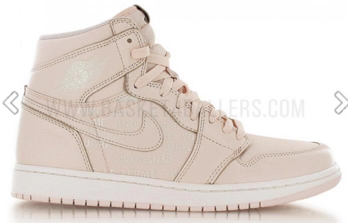 Chaussures Nike Air Jordan 1 Retro High OG Nike Air Pack Guava Ice