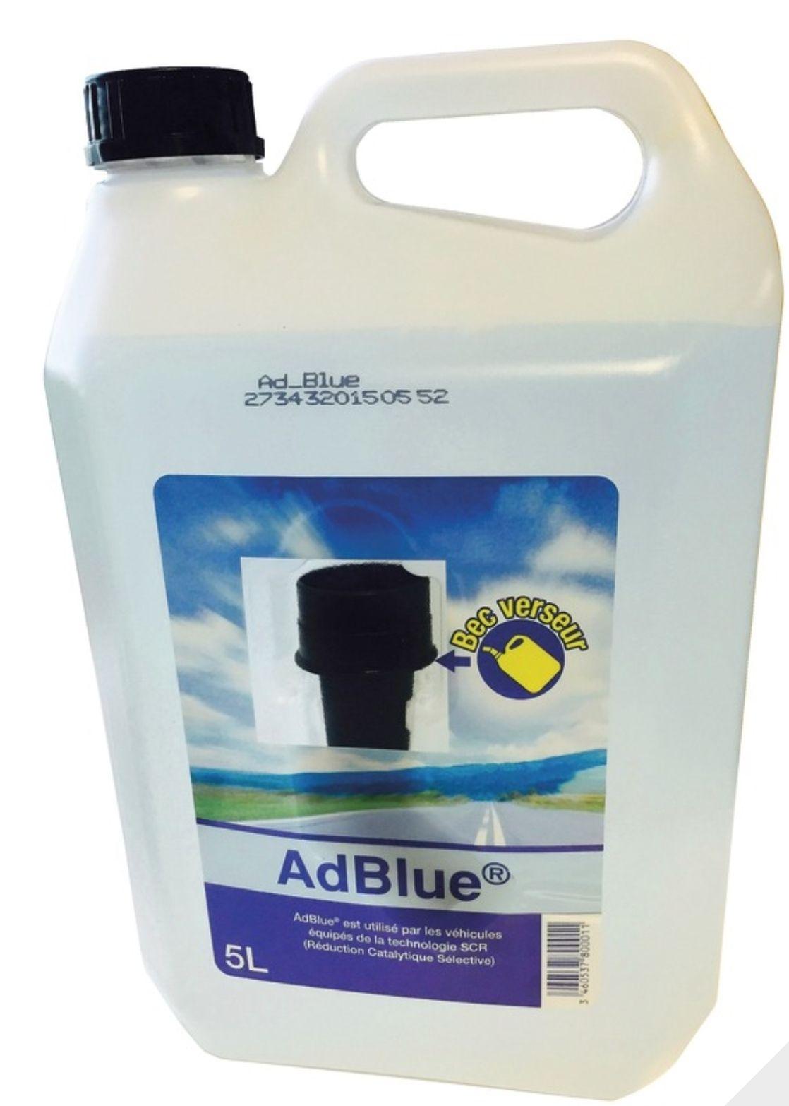 Bidon de solution aqueuse AdBlue - 5 litres