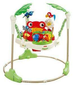 Jumperoo Jungle Fisher Price - max 12 Kg