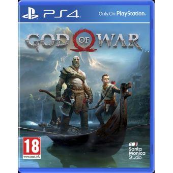 Jeu God Of War sur PS4 (Frontaliers Belgique)
