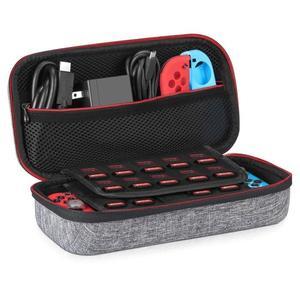 Etui Compatible pour Nintendo Switch Younik / Housse pour 19 Jeux + Adaptateur Secteur Officiel + autres accessoires (vendeur tiers)