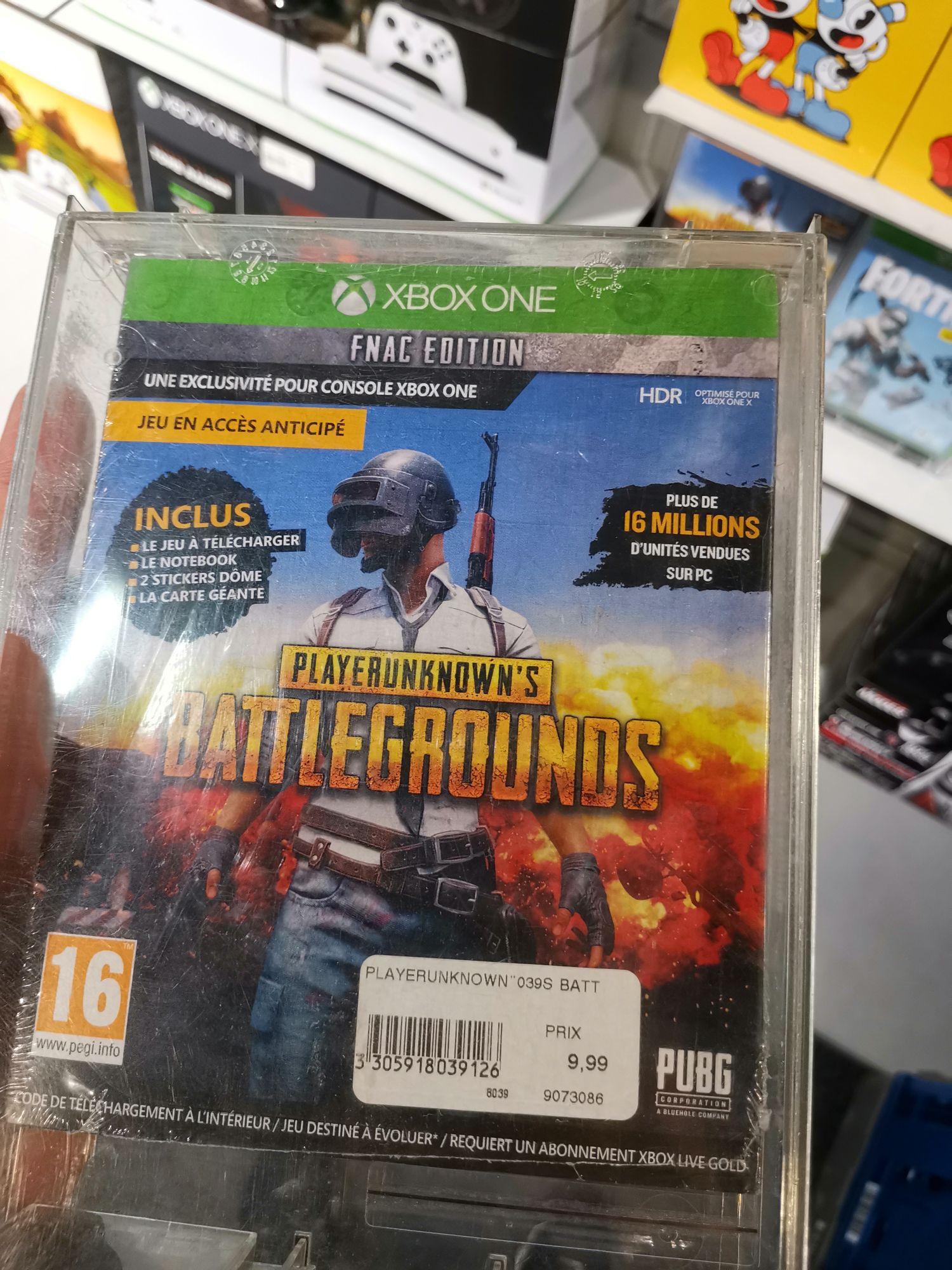 PlayerUnknown's Battlegrounds Edition Fnac sur Xbox One - Fnac La Défense (92)