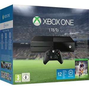 Pack console Microsoft Xbox One 1 To + FIFA 16 + 12 mois de Xbox Live + Forza Horizon 2 + Gears of War: Ultimate Edition + 12 mois d'EA Access