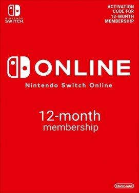 Code d'Abonnement 12 Mois au Nintendo Switch Online (Dématérialisé)