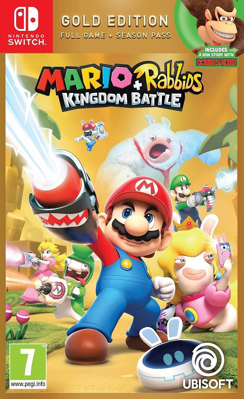 [CDAV] Mario + Lapins Crétins Kingdom Battle Édition Gold sur Nintendo Switch