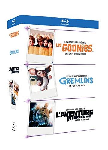 Coffret Blu-Ray Le Meilleur des Années 90 - Les Goonies + Gremlins + L'aventure Intérieure
