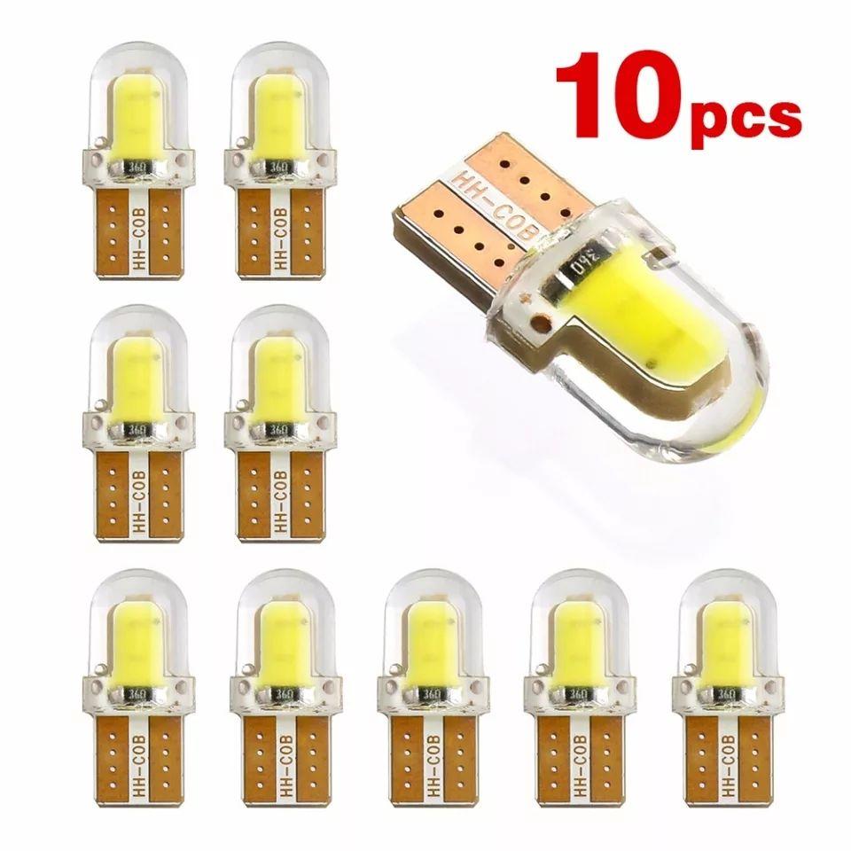 Lot de 10 LED W5W anti-erreur Canbus