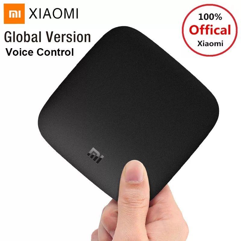 Box TV Android Xiaomi Mi Box 3 - Cortex-A53, 2 Go de RAM, 8 Go ROM, Android TV 6.0, Prise UK avec adaptateur EU