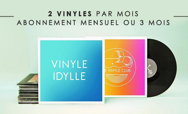 Abonnements mensuels Vinyles