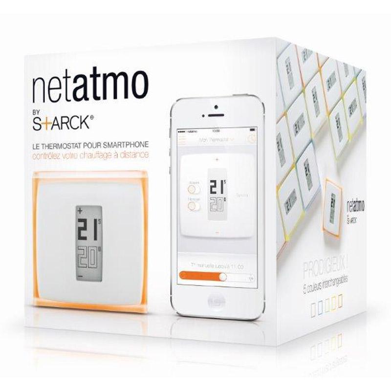 Thermostat Wifi Netatmo NTH01-FR-EC (Avec ODR de 30€)