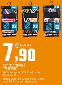 Lot de 3 boxers Freegun