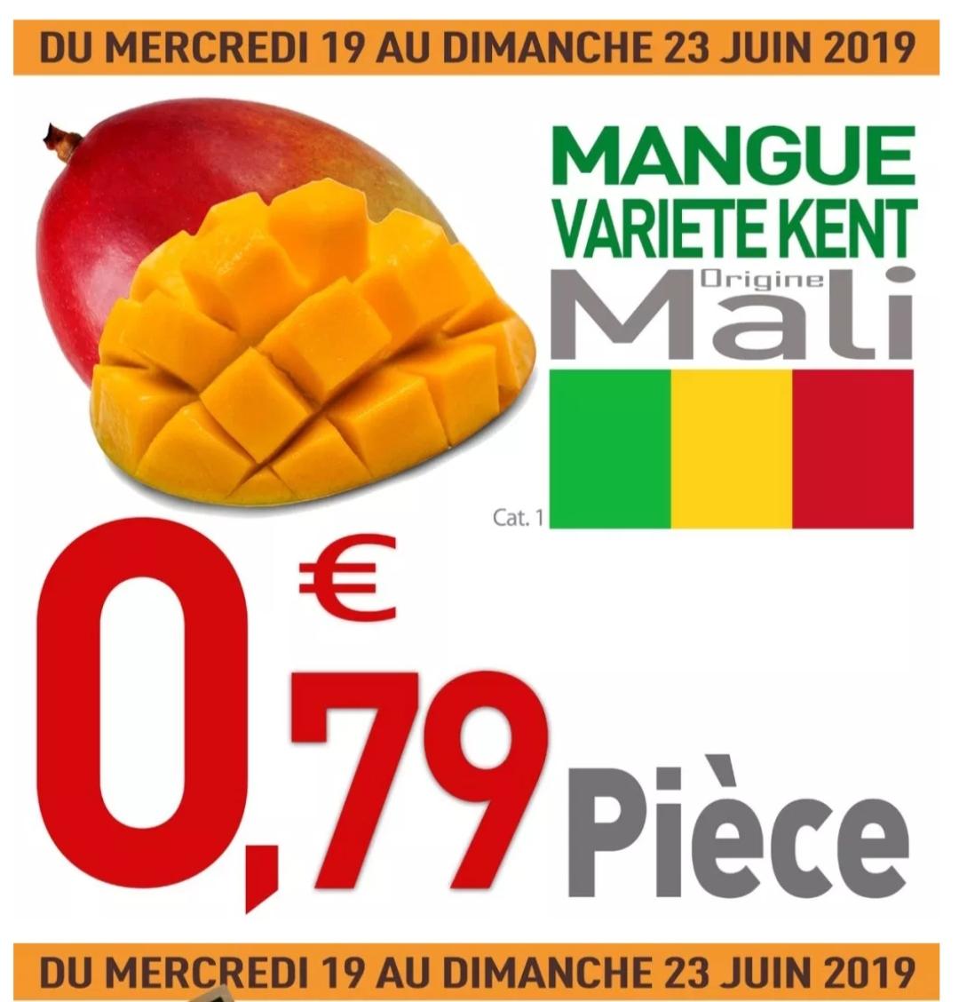 Mangue variété Kent (Origine Mali) - Catégorie 1