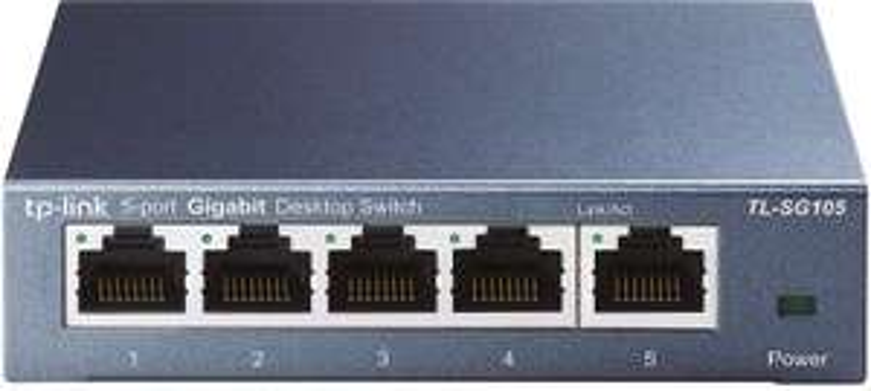 Switch Ethernet Gigabit TP-Link TL-SG105 - 5 ports, 10/100/1000 Mbps